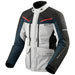 REV'IT! Men's Safari 3 Silver/Blue Jacket