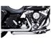 Vance & Hines Dresser Duals Head Pipes Chrome