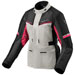 REV'IT! Women's Outback 3 Silver/Fuchsia Textile Jacket