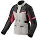 REV'IT! Women's Outback 3 Silver/Fuchsia Textile Jacket