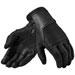 REV'IT! Men's Bastille Black Leather Gloves