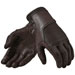 REV'IT! Men's Bastille Brown Leather Gloves