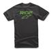 Alpinestars Men's Ride 2.0 Black/Green T-Shirt