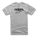 Alpinestars Men's Heritage Blaze Silver T-Shirt