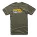 Alpinestars Men's Street Military Green T-Shirt