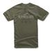 Alpinestars Men's Tribute Military Green T-Shirt
