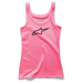 Alpinestars Women's Ageless Pink Tank Top