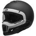 Bell Broozer Cranium Matte Black/White Full Face Helmet