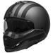 Bell Broozer Free Ride Matte Gray/Black Full Face Helmet