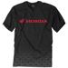 Factory Effex Men's Honda Fade Black T-Shirt