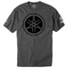 Factory Effex Men's Yamaha Tuning Fork Charcoal T-Shirt