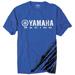 Factory Effex Men's Yamaha Racing Flare Blue T-Shirt
