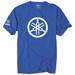 Factory Effex Men's Yamaha 2D Tuning Fork Blue T-Shirt