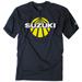 Factory Effex Men's Suzuki Sun Navy Blue T-Shirt
