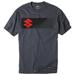 Factory Effex Men's Suzuki S-Bar Charcoal T-Shirt