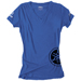 Factory Effex Women's Yamaha Fork Blue T-Shirt