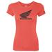 Factory Effex Women's Honda Wing Red T-Shirt
