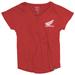 Factory Effex Women's Honda Wing Red Dolman T-Shirt