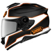 Shoei GT-Air II Bonafide White/Orange/Black Full Face Helmet