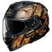 Shoei GT-Air II Deviation Black/Tan Full Face Helmet