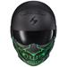 Scorpion EXO Covert Samurai Green Glow in the Dark Facemask