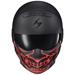 Scorpion EXO Covert Samurai Red Glow in the Dark Facemask