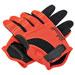 Biltwell Inc. Men's Orange/Black Moto Gloves