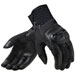 REV'IT! Men's Velocity Black Leather Gloves