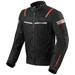 REV'IT! Men's Tornado 3 Black Mesh Jacket
