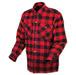 Scorpion EXO Men's Covert Red/Black Flannel Shirt