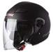 LS2 Track 569 Solid Matte Black Open Face Helmet