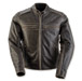 Black Brand Women's Vintage Rebel Brown Leather Jacket