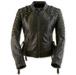 Black Brand Women's Mantra Black Leather Jacket