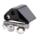 J&P Cycles Black Right Mirror Adapter for Harley Models Handlebar Controls