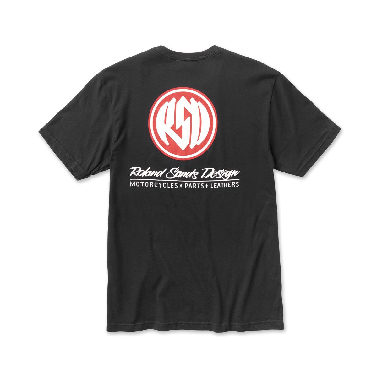 Roland Sands Design Men's Corpo Black T-Shirt