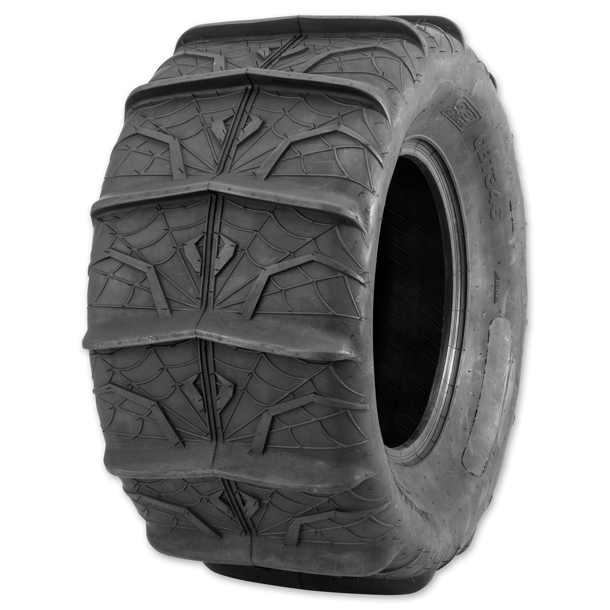 Quadboss QBT346 Sand 28X13-14 6-Ply Rear Tire