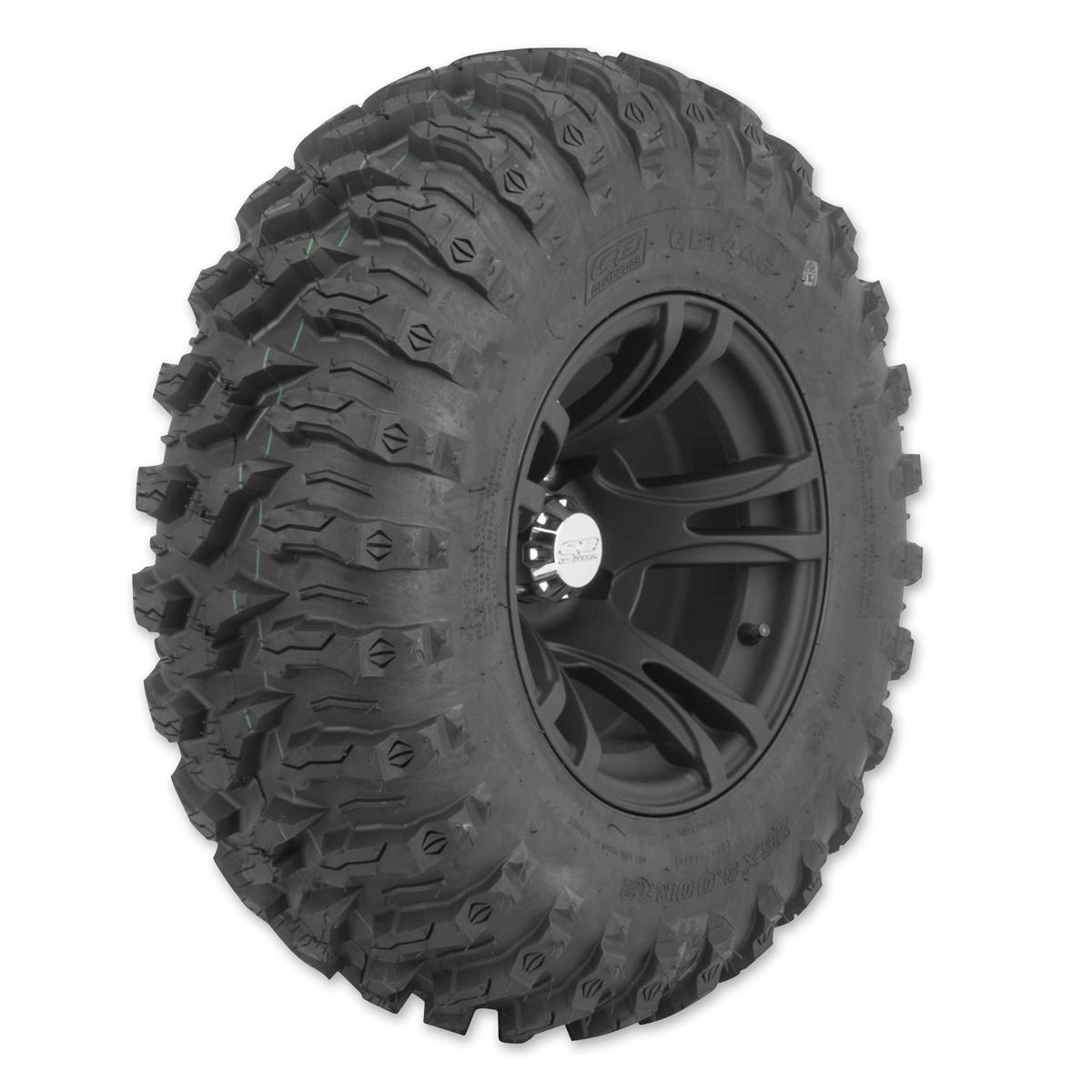 Quadboss QBT446 26X9R12 8-Ply Front Tire