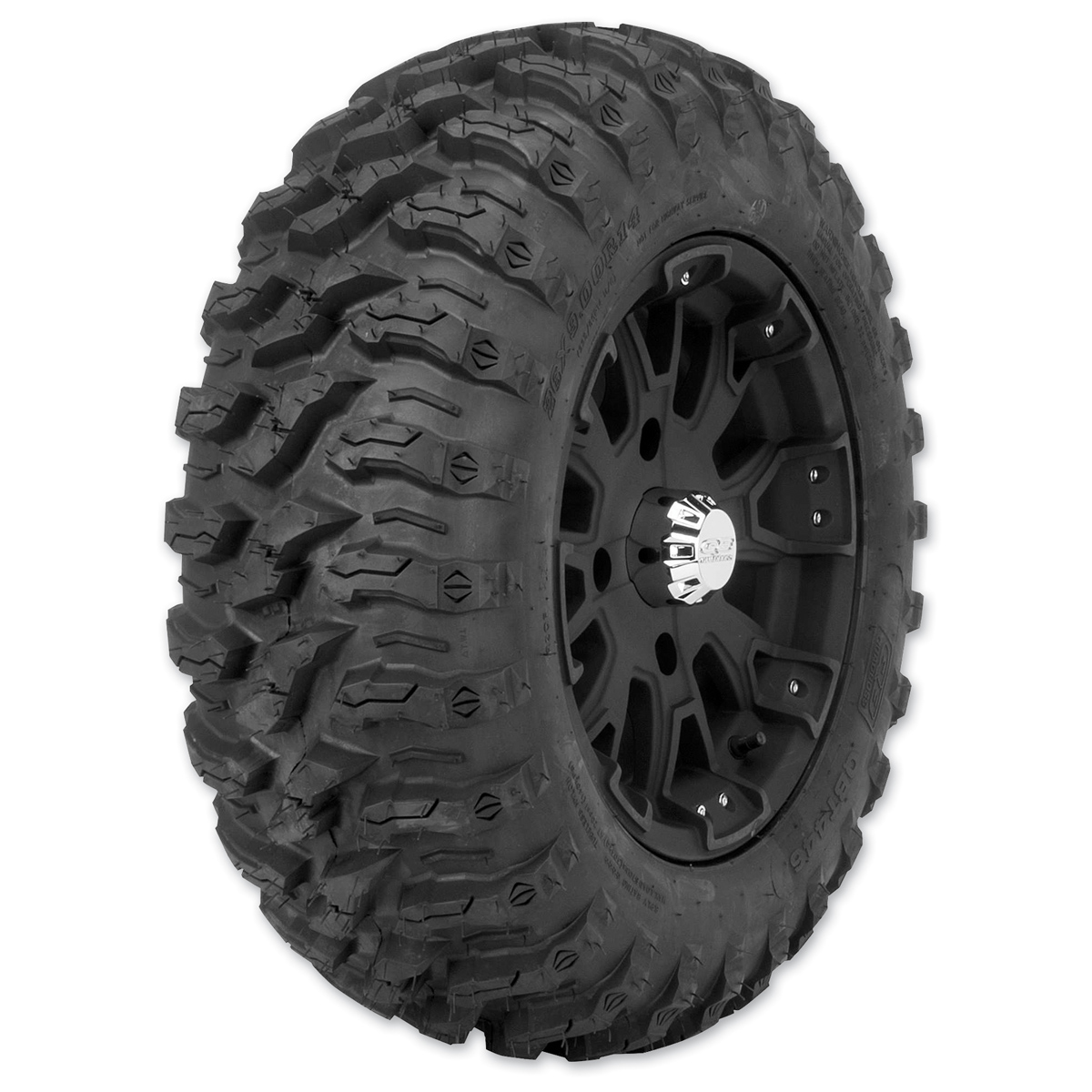 Quadboss QBT446 26X9R14 8-Ply Front Tire