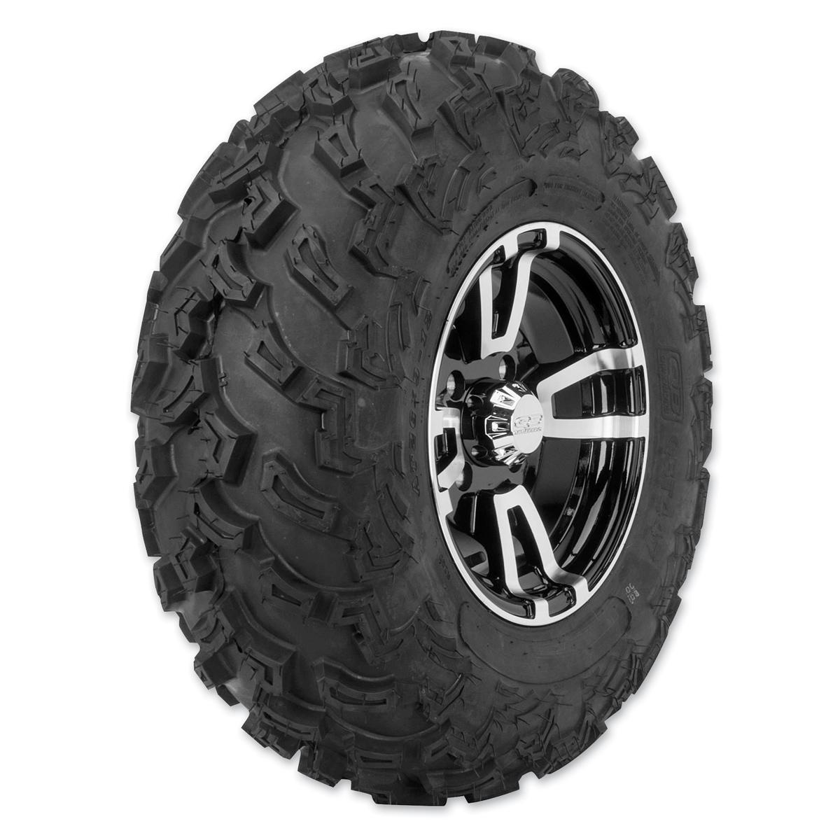 Quadboss QBT447 26X9-12 6-Ply Front Tire