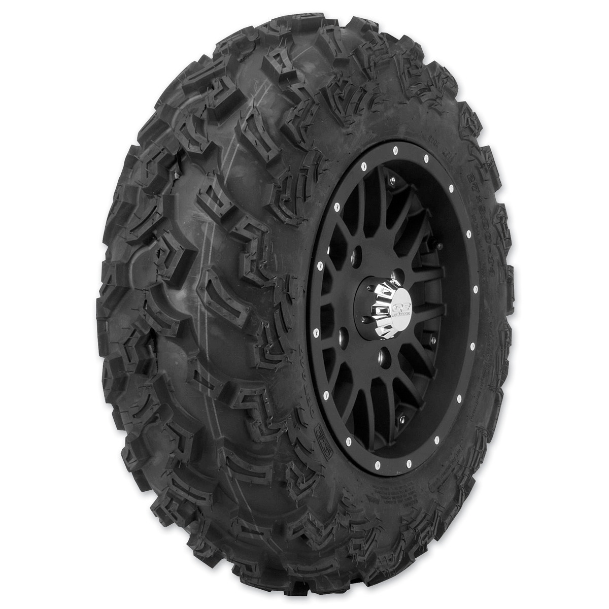 Quadboss QBT447 27X9-14 6-Ply Front Tire