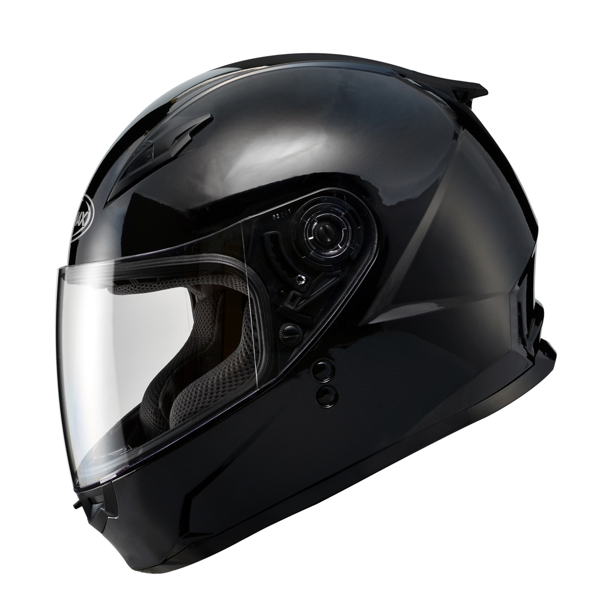 GMAX GM49Y Youth Gloss Black Full Face Helmet