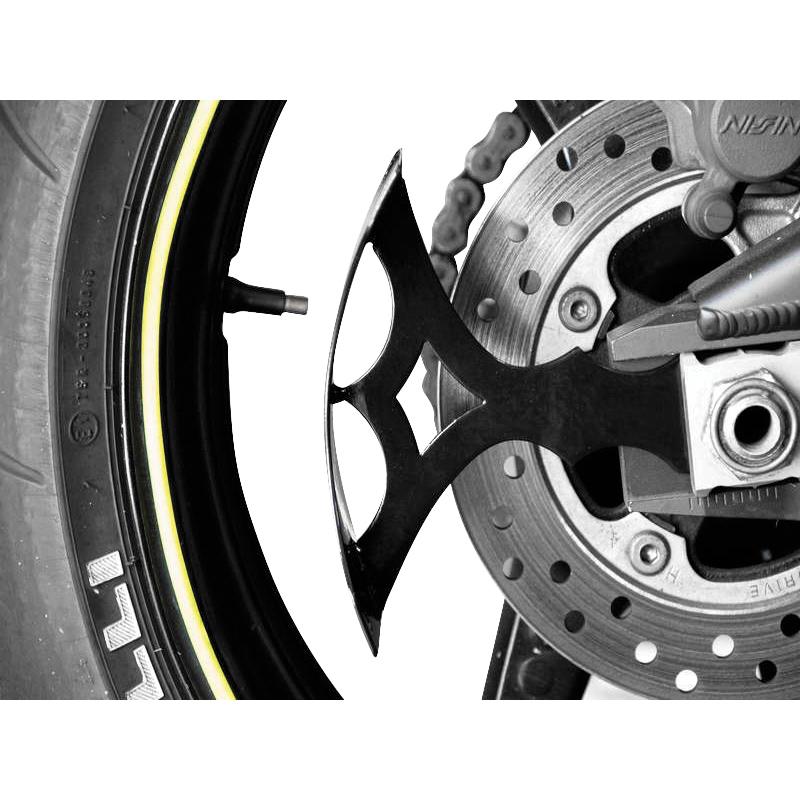 PSR-USA V5 Swingarm License Plate Bracket Black