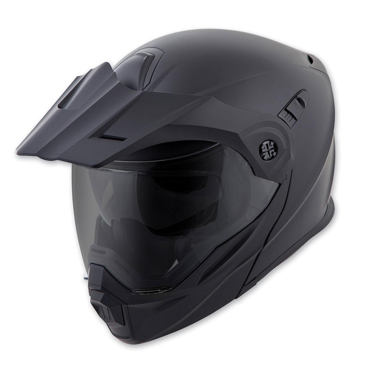Scorpion EXO EXO-AT950 Matte Black Modular Helmet