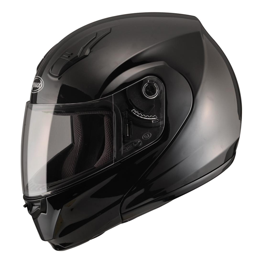 GMAX MD04 Gloss Black Modular Helmet