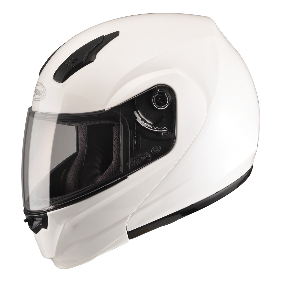 GMAX MD04 Pearl White Modular Helmet