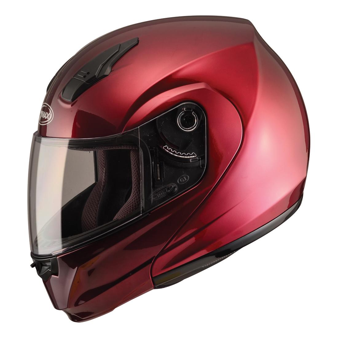 GMAX MD04 Wine Red Modular Helmet