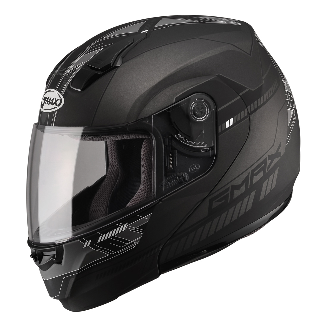 GMAX MD04 Dark Silver Modular Helmet