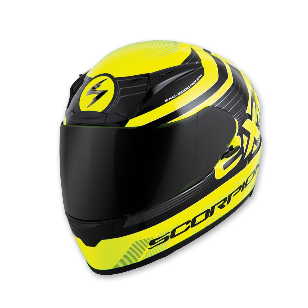Scorpion EXO EXO-R2000 Fortis Black/Neon Full Face Helmet