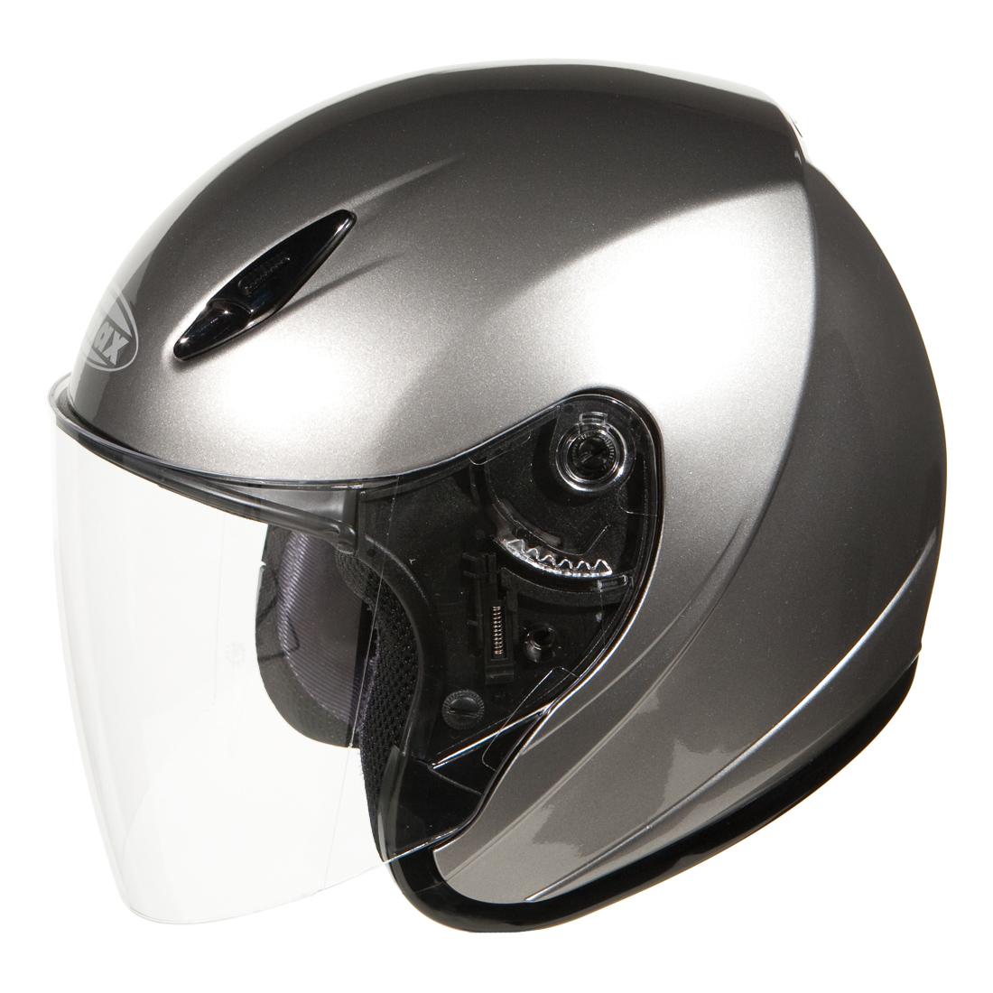 GMAX GM17 Titanium Open Face Helmet