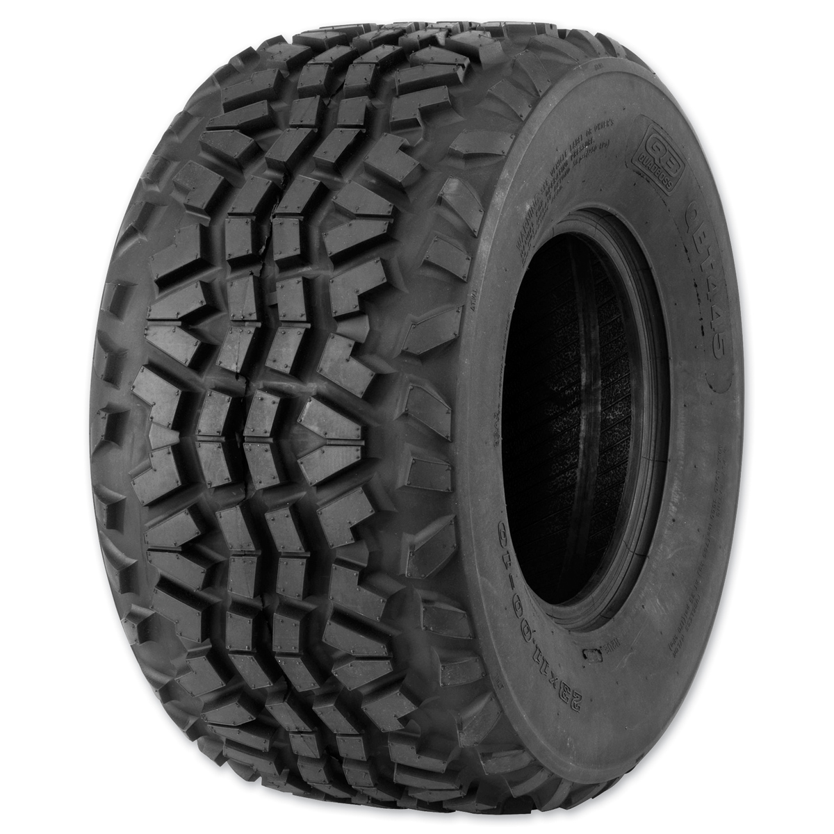 Quadboss QBT445 23X11-10 4-Ply Front/Rear Tire